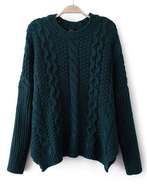 Sweater Unisex Sweater X Navy Terkeren navy sleeve chunky cable knit sweater clothes sweaters strik