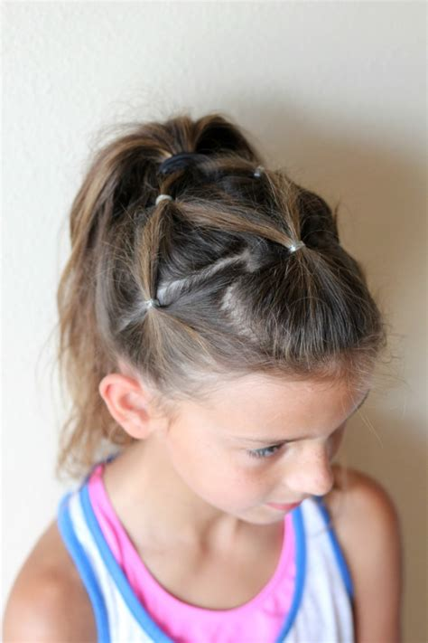 little girl hairstyles in ponytails 10 cute little girl hairstyles ma nouvelle mode