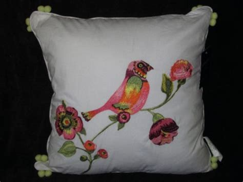 Cynthia Rowley Pillows by Cynthia Rowley Decorative Pillow For Quilt Bird Tropical