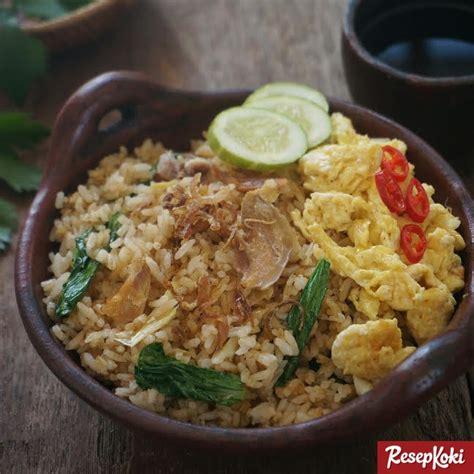resep capcay jawa goreng special resep hari ini nasi goreng kung khas jawa nasgor tek tek resep