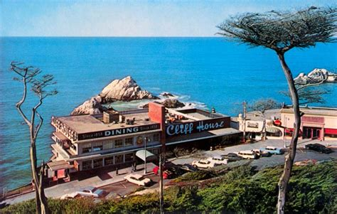 The Cliff House San Francisco by Roadtrip Nostalgic Postcards Of American Roadside