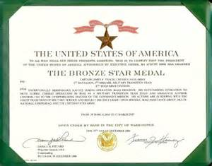 Bronze Star Certificate Template Bronze Star Medal Citation Images Amp Pictures Becuo