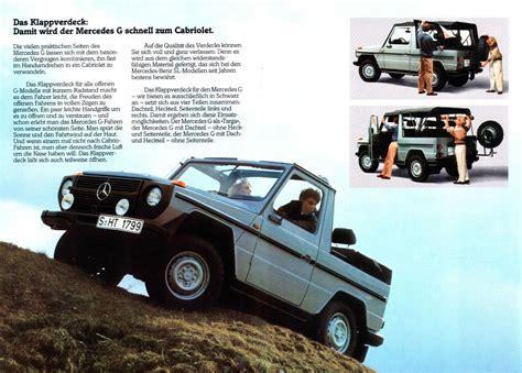 old car manuals online 2005 mercedes benz g class interior lighting brosur mercedes benz g wagon awansan