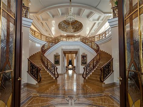 gold crown versailles photography art crown home decor sprawling 27 000 sq ft russian mansion lists for 80