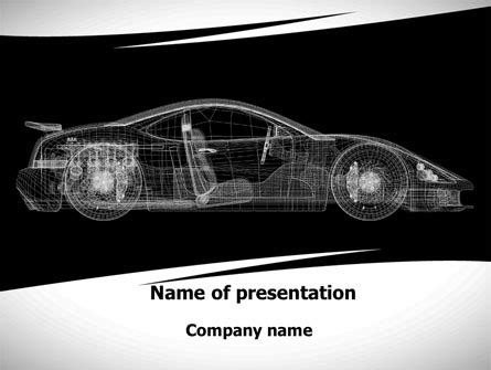 ppt templates for automobile presentation car design process presentation template for powerpoint