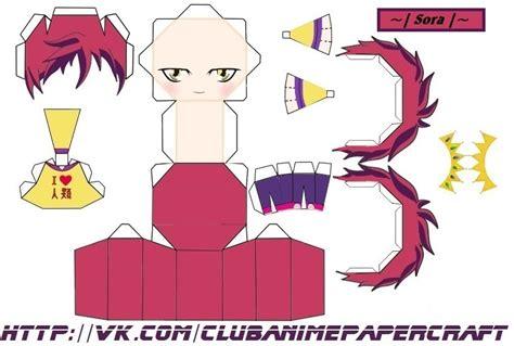 No Papercraft - sora no no papercraft chibi by angelinapankowa