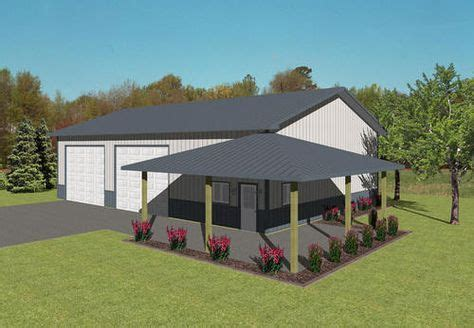 agricultural  porch  menards scotts barn house plans pole barn homes