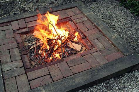 bonfire fire pit backyard rustic fire pits diy