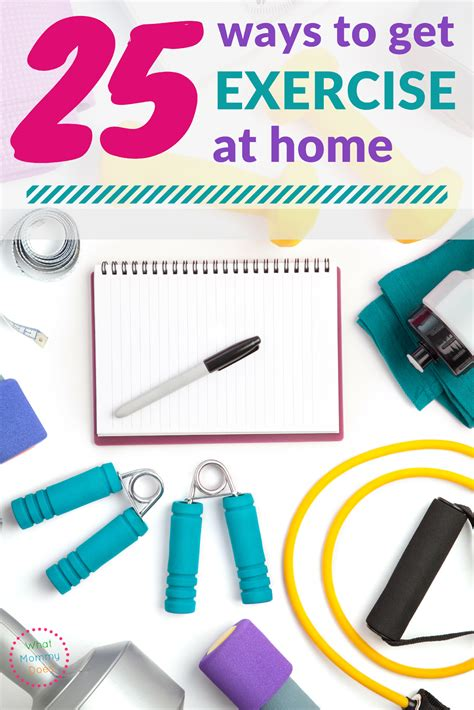 25 easy ways to exercise at home free ebook what