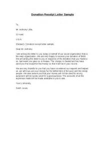 Acknowledgement Letter Charitable Contribution Sle Donation Letter Gplusnick