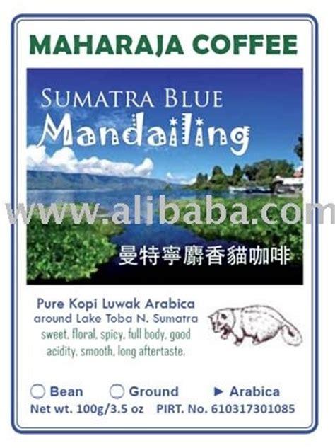 Coffindo Single Origin Arabica Sumatera Roasted Bean exotica sumatra roasted robusta kopi luwka bean products