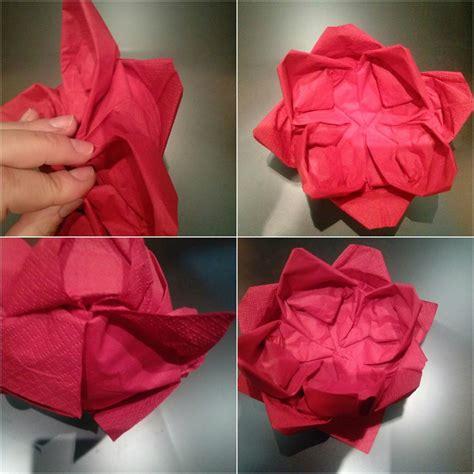 origami facili fiori origami facili la ninfea portacandela idee di tutto un po