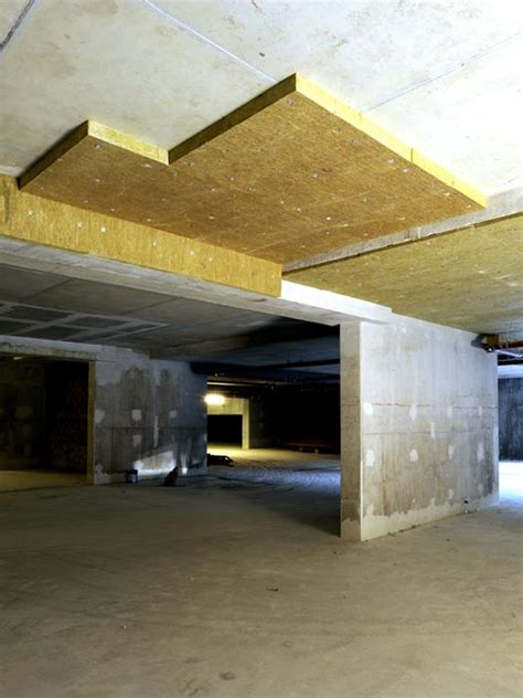 Isolation Plafond Garage Beton by Isolation Des Plafonds Sous Plancher Hourdis B 233 Ton J