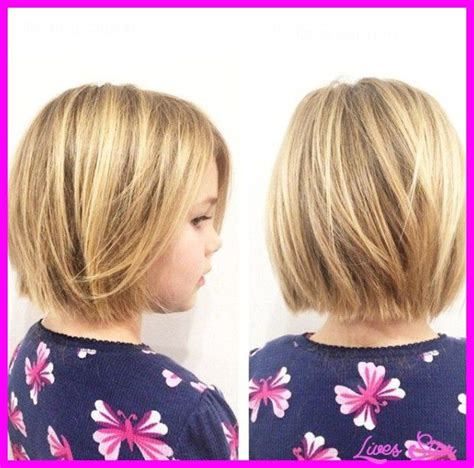 long bob hairstyles for 8 year olds cool little girl bob haircuts wavy lives star