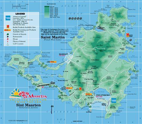 st martin map caribbean on line st martin st maarten maps st martin st maarten