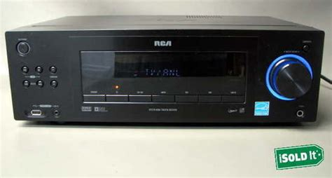 rca rt2770 home theater audio sound receiver mp3 dvd dvr