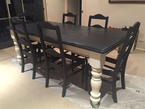 how to paint a dining room table with chalk paint painted dining room table dining tables ideas