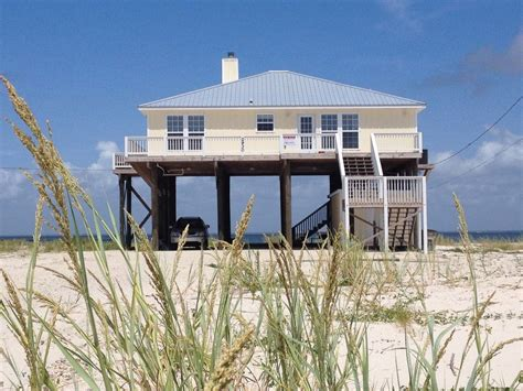 dauphin island house rental secluded gulf paradise at - Dauphin Island House
