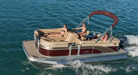 best value in pontoon boats 2017 s20 cruise pontoon boats by bennington