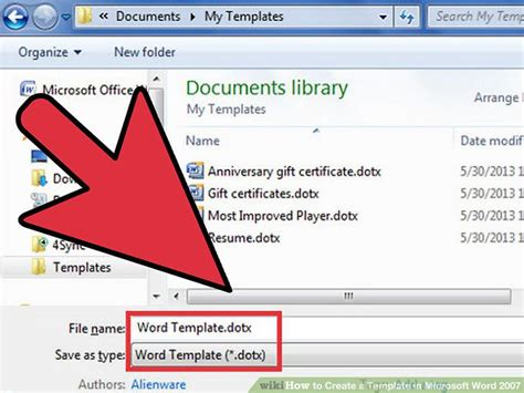 Where To Find Templates In Word 2007