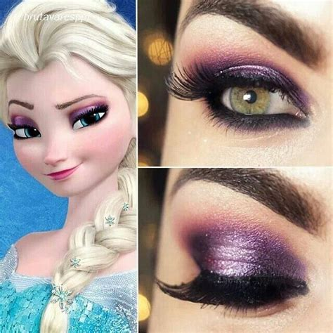 disney makeup tutorial inspired by disneys frozen clothes hair makeup