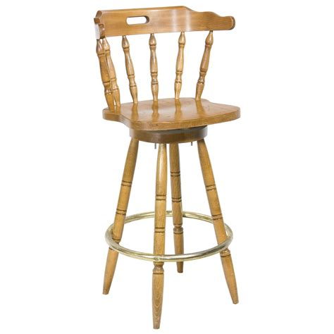 Oak Stools With Backs by Stool Captains Chair Oak W Back Air Designs