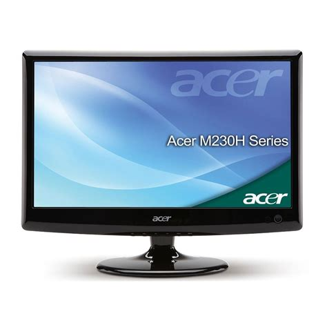 acer m230hdl led price