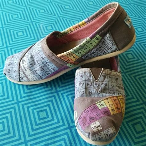 periodic table of elements toms 55 toms shoes toms the periodic table of elements