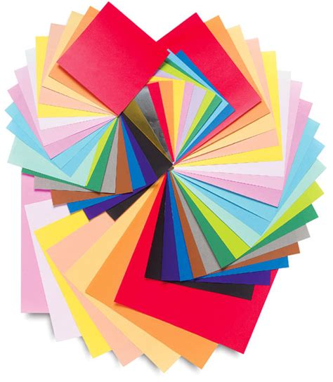 What To Make With Colored Paper - yasutomo origami colored paper assortments blick