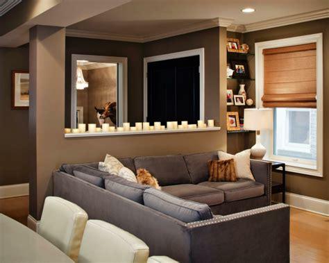 Raumgestaltung Wohnzimmer Braun by Wandgestaltung In Braun 50 Wohnzimmer Wohnideen