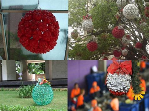 filmflex plastics natal cc bola de natal feita com fundo de garrafas pet https www