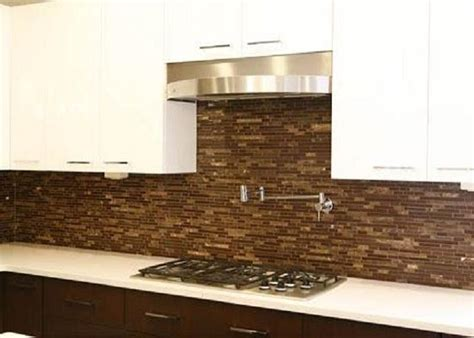 Bloombety Cool Backsplash Tiles For Cool Style Brown Glass Tile Kitchen Backsplash Edge