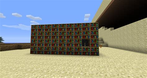 diy bookshelf door minecraft plans free