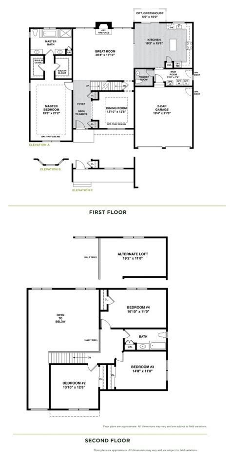 rosewood floor plan the rosewood hickory farms hickory meadows communities