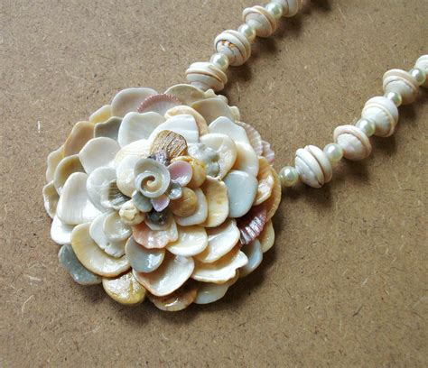 shell jewelry all about handmade seashell jewelry utsavpedia