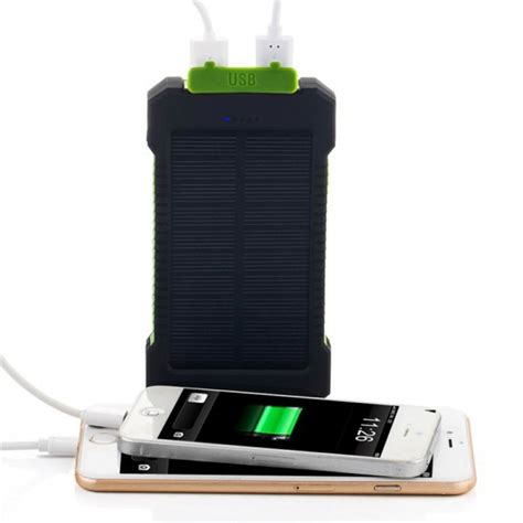 Power Bank Samsung Led buy wholesale solar power bank 10000mah waterproof charger