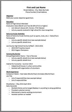 resume templates zip high school student resume sles with no work experience