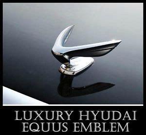Emblem Logo Luxury Chrome hyundai luxury equus 2010 genuine oem part ornament emblem wing 863203n000 ebay