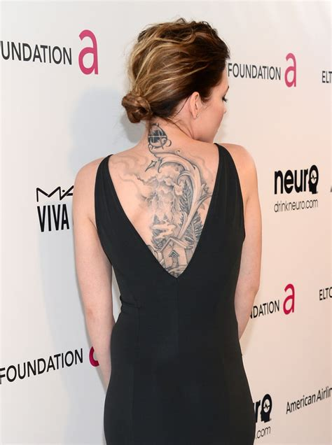 skylar grey tattoo skylar grey in elton s academy awards viewing