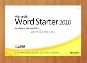 microsoft office starter 2010 free