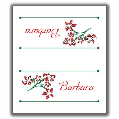 sided place card template place cards template lights card and