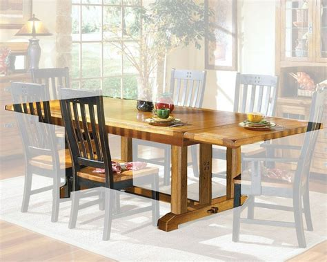 mission oak dining table intercon solid oak dining table rustic mission inrm44108tab