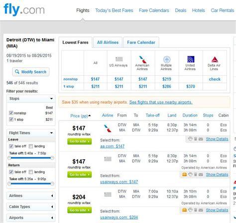 Detroit Search 147 197 Detroit To New Orleans Miami Las Vegas R T Fly Travel
