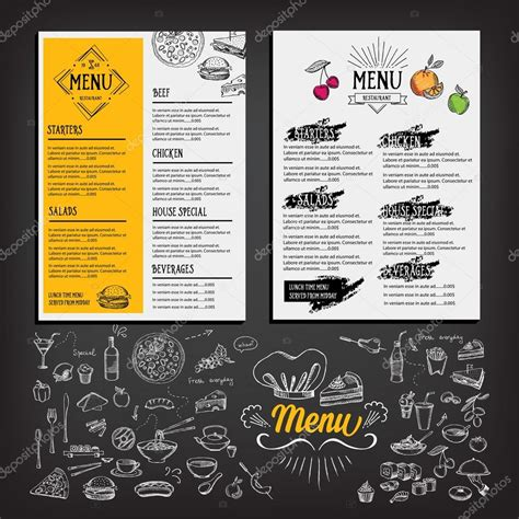 Cafe Templates by Cafe Menu Design Template Www Imgkid The Image Kid