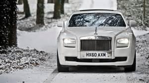 Royce Rolls Ghost Rolls Royce Ghost White Wallpaper