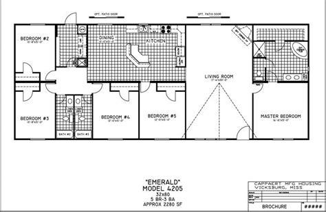 inspirational 5 bedroom modular homes floor plans new
