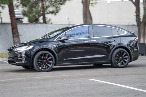 Tesla F Tesla Reveals 2016 Model X Crossover In Photo Image
