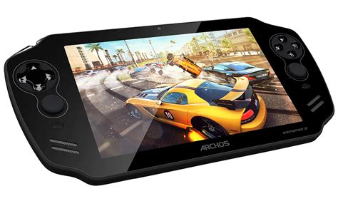 android gaming handheld archos unveils android powered gamepad 2 handheld gaming system technabob