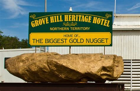 the gold nugget picture of grove hill heritage