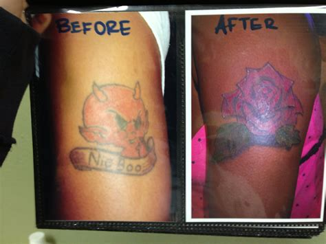 devil rose tattoo cover up w by keno g tattoos by keno